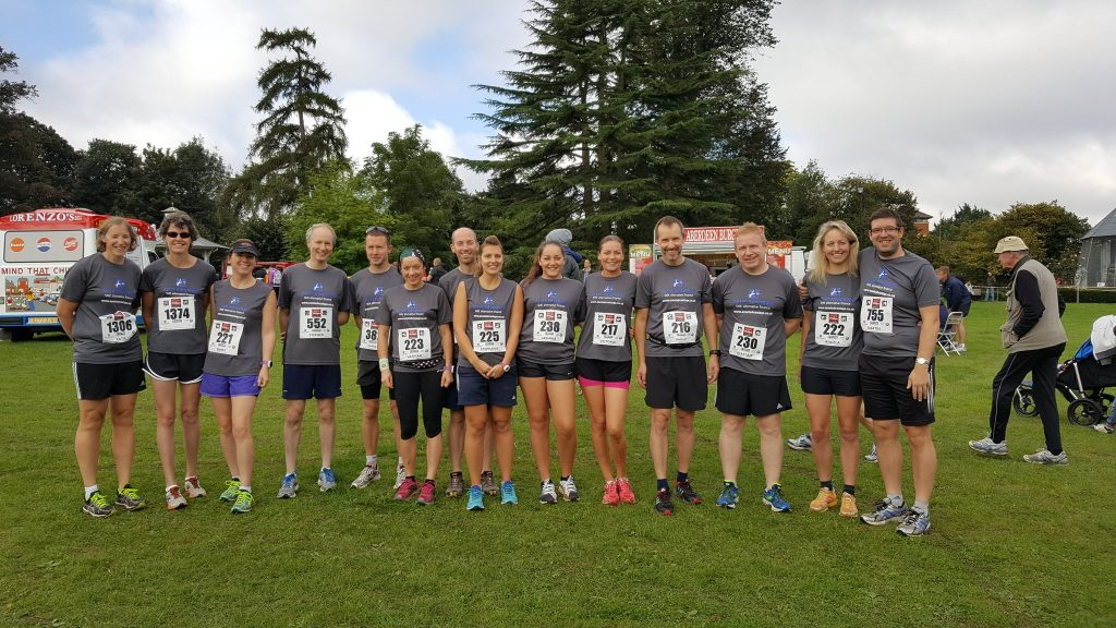 Asset Advantage at the Basingstoke Half Marathon 2016